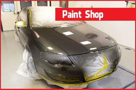 Car Paint shop Bradford