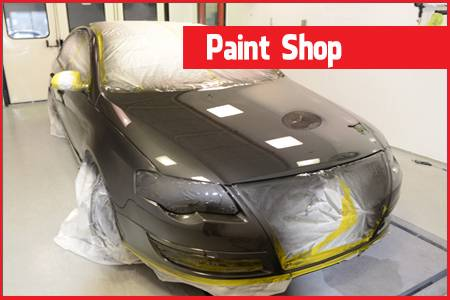 Car Paintshop Bradford